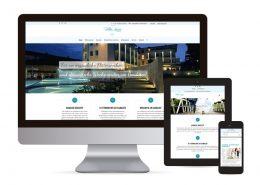 Webdesign mit WordPress für Hotel Villa Luisa
