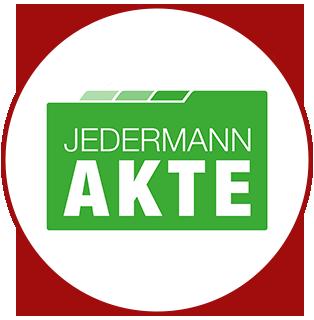 Logo - CI Entwicklung für JEDERMANN AKTE
