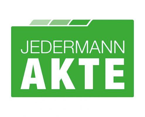 Logo CI Jedermann Akte - Cloudservice