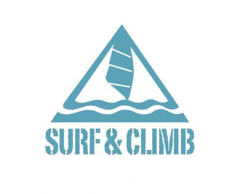 Logo Gestaltung Surf & Climb