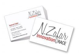 Visitenkarte Innovation Race