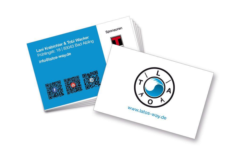 Visitenkarten Entwurf Gestaltung Druck Kreativ Günstig