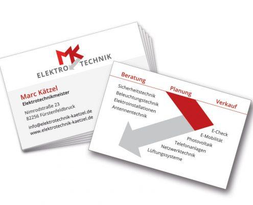 Visitenkarte Elektrotechnik Kätzel