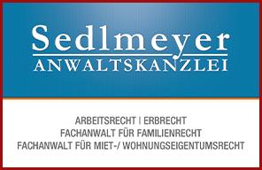Visitenkarten für Anwaltskanzlei Sedlmeyer
