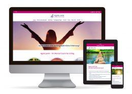 Webdesign WordPress Agata Janik - Mental Coach