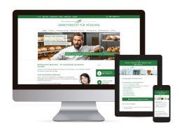 Webdesign mit WordPress für Arbeitsrecht Schübel