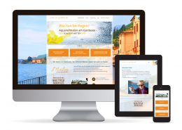 Webdesign WordPress Malen am Gardasee