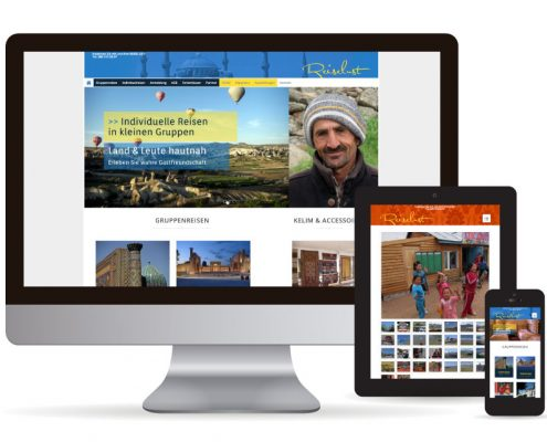 Webdesign WordPress Reiselust Mucke