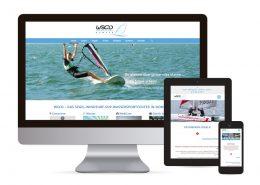 Webdesign mit Wordpress für Wassersportcenter Domaso