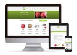 Webdesign WordPress Werben mit Obst
