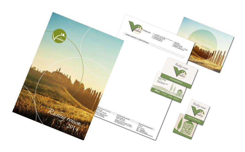 Geschäftsausstattung Briefpapier Logo Visitenkarten Aus