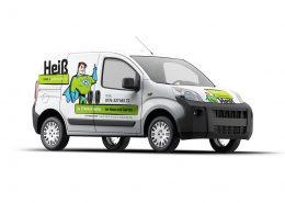 Car-Wrapping für Heiß - Haus & Gartenservice