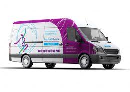 Car-Wrapping für Sanitätshaus - Orthopädie & Rehatechnik
