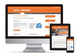 Webdesign WordPress Auto Orange Die Webseite für Auto Orange - Layout & Grafikdesign wurde mit WordPress erstellt.