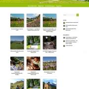 Webdesign für Tourismusportal BerglustPur - Design des Blogs