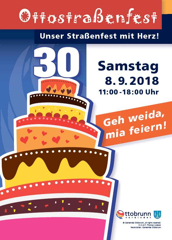Ottostrassenfest 2018 Plakat