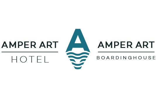 Logo Gestaltung Amper Art Hotel und Boardinghouse in Fürstenfeldbruck