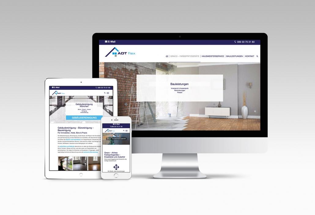Webdesign mit Wordpress für Hausmeisterservice