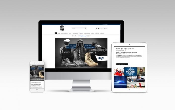 Onlineshop mit Shopware