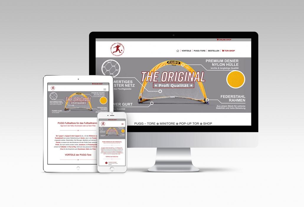 Webdesign mit Wordpress & Woocommerce-Shop für Jens Keller Fußballtrainer