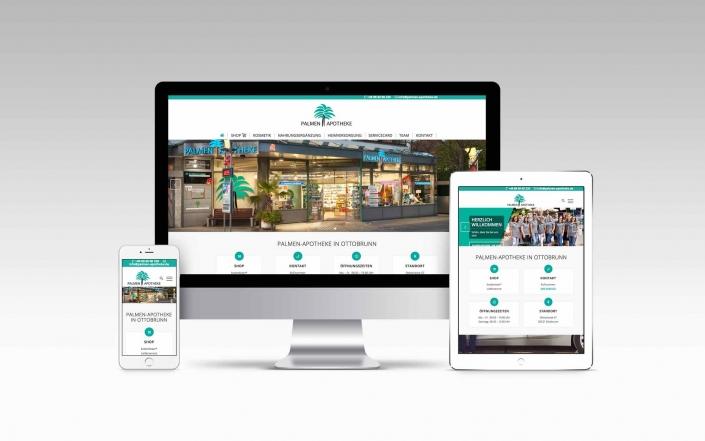 Webdesign mit Wordpress - Palmenapotheke