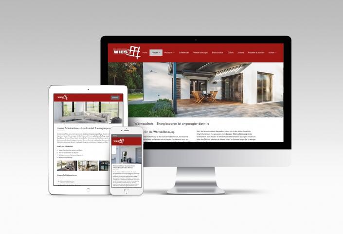 Webdesign mit Wordpress für Fensterhersteller