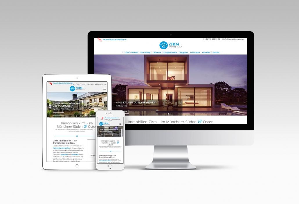 Webdesign mit Wordpress für Immobilienmakler
