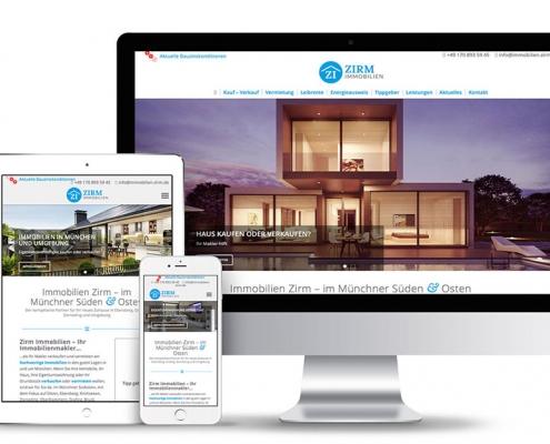 Webdesign für Immobilien-Makler mit WordPress