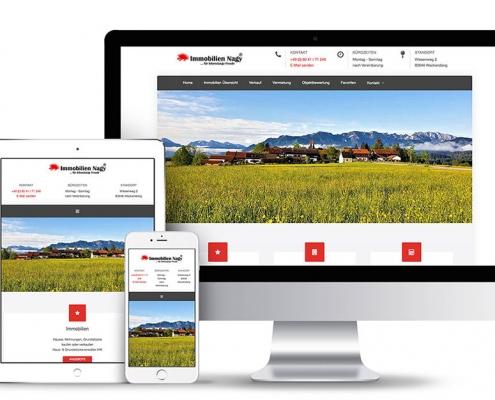 Webseiten für Immobilien-Makler erstellt