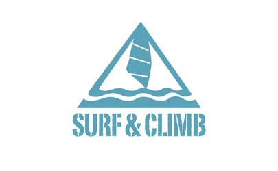 Logo Design Surf und Climb