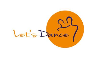 Logo Erstellung und Design Tanzschule Lets Dance