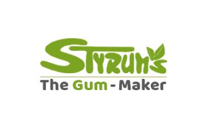 Logo Gestaltung Styrums Kaugummi