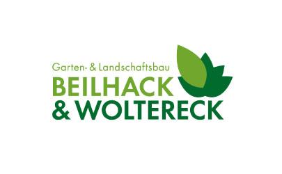 Logo Erstellung für den Garten & Landschaftsbaubetrieb Beilhack & Woltereck