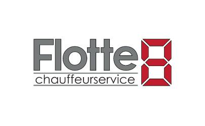 Logo erstellt für Flotte8 Chaffeurservice