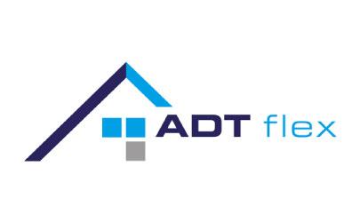 Logo gestaltet für ADT-flex