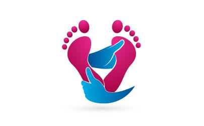 Logo gestaltet für Fußpflege Meyer