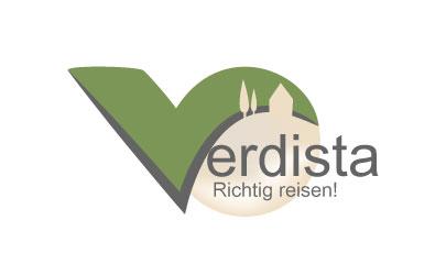 Logo Design und Erstellung Reiseportal Verdista